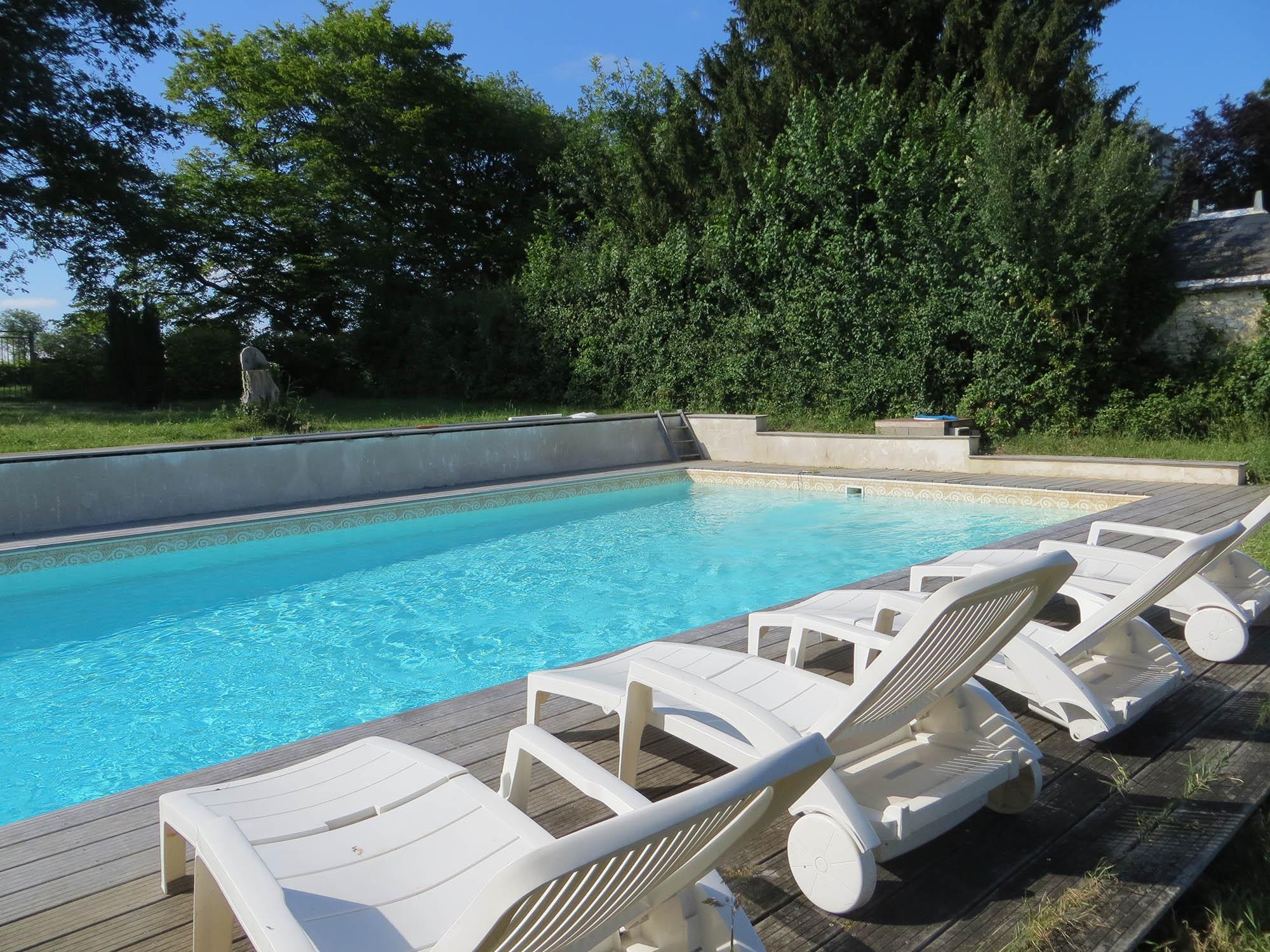 Grand gîte receptions piscine fonteneilles