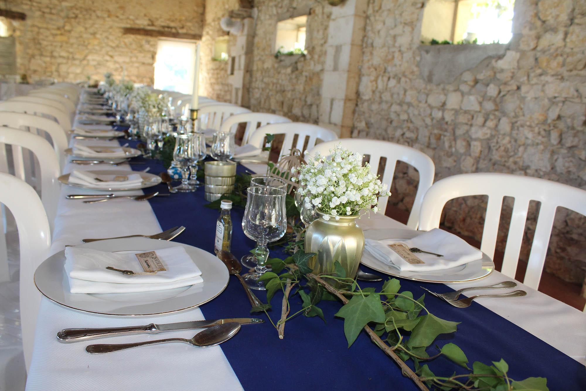 reception gite mariage région centre