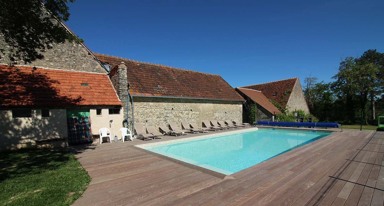 piscine du gite les fonteneilles
